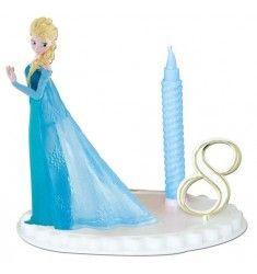 bougie la reine des neiges elsa