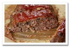 Ina Garten's Meat Loaf. So moist and flavorful!