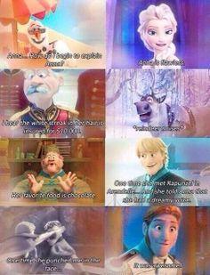 frozen mean girls