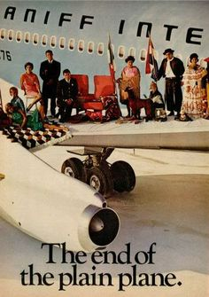 Braniff Ad -  Vintage Airlines: Come Fly With Me.