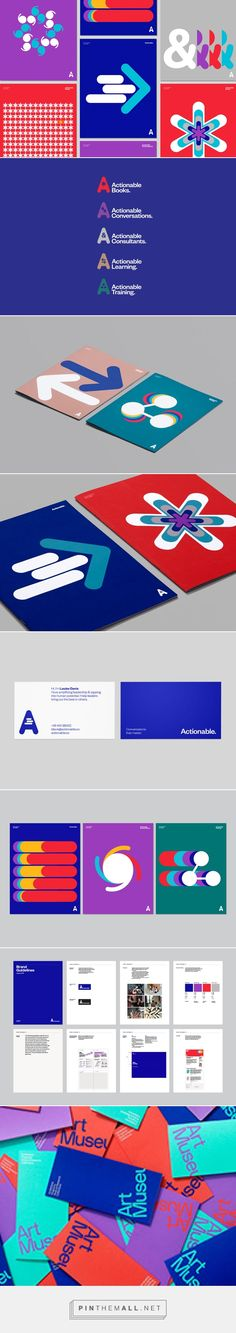 Actionable on Behance... - a grouped images picture - Pin Them All