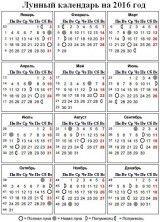 Лунный посевной календарь садовода и огородника на 2016 год