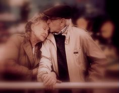 Old people in love melts my heart completely<3<3