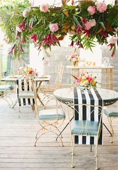 Design inspiration: Stripes and Roses