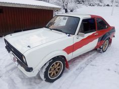 This ford escort bda 2.0. group 4 is for sale.