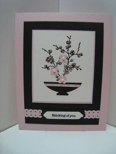 seg-Asian Thinking of You by Quiltmaniac46 - Cards and Paper Crafts at Splitcoaststampers