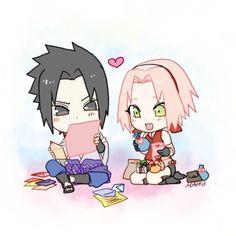 <3 Sakura & Sasuke