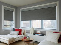 Hunter Douglas Designer Roller Shades are loved for their clean appearance, versatility and premium style. Our Roller shades are customizable with an array of top and bottom treatments. Tv Stand Modern Design, Tv Stand Designs, Modern Sofa Designs, Contemporary Design, Modern Window Treatments, Window Treatments Living Room, Living Room Windows, Modern Patio Doors, Modern Windows