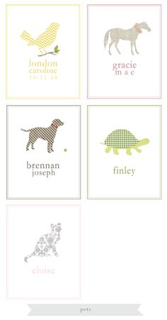 make these fun name prints