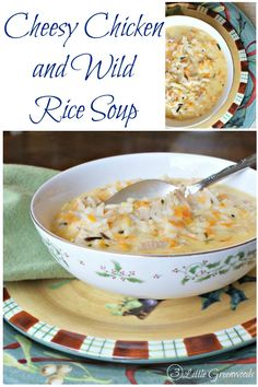Rice Soup | Recipe | Turkey Wild Rice Soup, Wild Rice Soup and Rice ...
