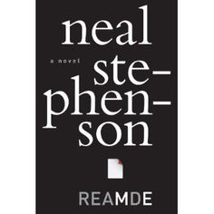 The great Neal Stephenson ... can't wait for his newest masterpiece