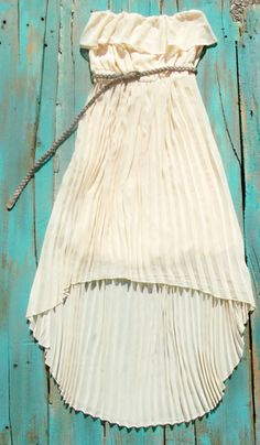 Country High Low Dress