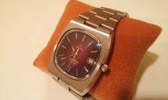 時計 OMEGAオメガシーマスターカラーダイヤルアンティーク70s Watch omega ¥20000円 〆03月26日