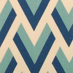 Navy Blue Chevron Upholstery Fabric by greenapplefabrics on Etsy, $37.00 love the cream colour on this pattern and the light blue too.