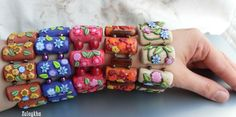 Zuleykha's polymer clay: faux surfaces