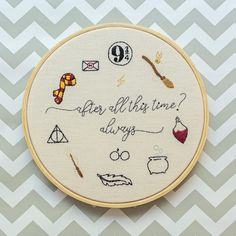Harry Potter Quilt, Harry Potter Gifts, Harry Potter Theme, Embroidery Hoop Art, Cross Stitch Embroidery, Embroidery Patterns, Harry Potter Cross Stitch Pattern, Harr Potter, Thread Painting