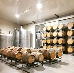 Atze's Corner Wines new winery addition. A fantastic facility producing some brilliant Barossa wines.