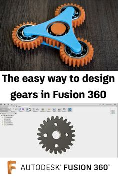 The Easy Way to Design Gears in Fusion 360 Fusion Design, 360 Design, Geek Crafts, Diy Arts And Crafts, Geek Jewelry, Bullet Jewelry, Gothic Jewelry, Jewelry Necklaces, Product Development Process