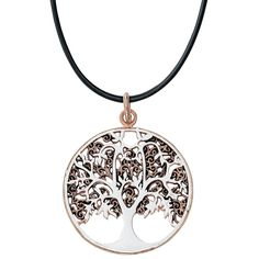The Tree Of Life is the symbol embodies life, growth, cure and immortality.   - Ø: 3.2 cm - will be delivered in am etNox box with detailed description of the meaning. - pendant will be delivered...