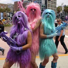 leggy Wookiees