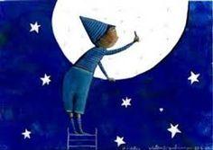 pintant la lluna