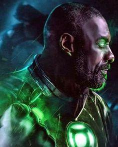 Idris Elba dreamcast for John Stewart