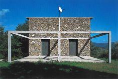 Stone house - Tavol - Italie - 1988 - Herzog & de Meuron