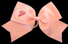 Be Mine cheer bow