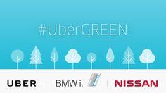 Ver UberGREEN, viaja gratis en un auto 100% eléctrico