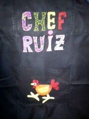 Mis cositas de patch: CHEF RUIZ
