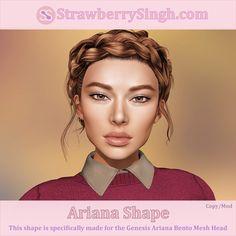 StrawberrySingh.com Ariana Shape