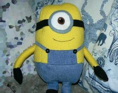 Minion Plush- with diy instructions