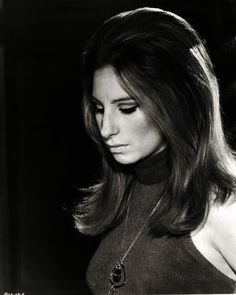 "Barbra Streisand looking glamorous from ""The Owl and Pussycat"" (which we will be screening for the public tonight)"