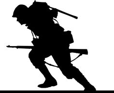 Free Image on Pixabay - World War, Soldier, Run, Attack Running Silhouette, Silhouette Painting, Silhouette Images, Free Illustrations, Illustration Art, My Images, Free Images, Remembrance Day Art, Soldier Silhouette
