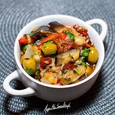 szybkie i zdrowe dania jednogarnkowe bez glutenu caponata potrawka warzywna