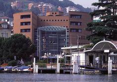 Centro Cinque Continenti, Lugano-Paradiso, Switzerland, 1992.