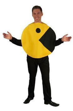 Incogneato Pac-man Pacman Adult One Size Halloween Costume - Starting BID