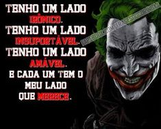 Resultado de imagem para frases do coringa Edward Cullen, My Past, Joker, 1, Fictional Characters, Heath Ledger, Tattoo, Tops, Joker Quotes