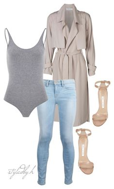 """""""untitled#307"""" by hebashk ❤ liked on Polyvore featuring Frame Denim and Manolo Blahnik"""