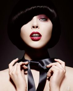 Coco Rocha for Yves Saint Laurent 2008 Holiday Bow Color Cosmetics Collection.