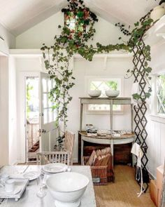 Bloom in Sag Harbor Sag Harbor, Play Houses, Pretty Pictures, Ladder Decor, Sweet Home, Bloom, Inspiration, Shopping, Bucket