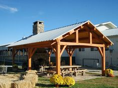 Timber Frame Gazebos Bridges Pavilions Outdoor Structures Barns - by the creek