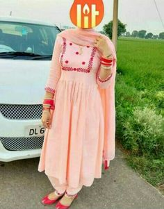Designer Punjabi Suits Patiala, Punjabi Suits Designer Boutique, Boutique Suits, Indian Designer Suits, A Boutique, Embroidery Suits Punjabi, Embroidery Suits Design, Embroidery Designs, Embroidery Fashion