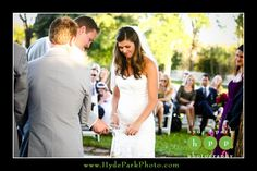 Michelle, the gorgeous bride, pours her unity sand together with her new husband during their ceremony at Austin Wedding Venue, Barr Mansion. Photos by Austin Wedding Photographers Hyde Park Photography. www.hydeparkphoto.com #atx #wedding