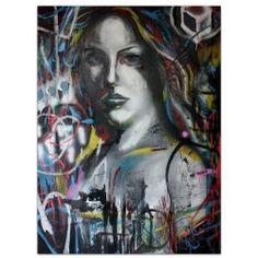 Original acrylic painting By. Gallery Funk Art, Denmark