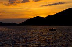 Sunset at Fuschl, June 2014