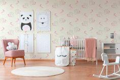παιδικη ταπετσαρια μονοκεροι 36989-1 - Ταπετσαρίες τοίχου Elephant Party, Peel And Stick Wallpaper, Wallpaper Paste, Montage, Pink White, Boy Or Girl, Toddler Bed, Kids Rugs, Cool Stuff