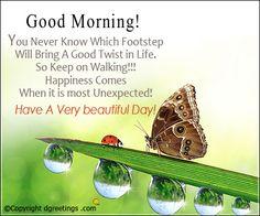 Good Morning MSG Card