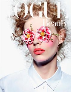 Vogue Japan March 2015 Model: Ondria Hardin Photographer: Richard Burbridge Fashion Editor: Nicolette Owen Hair: Tamara McNaughton Make-up: Peter Philips