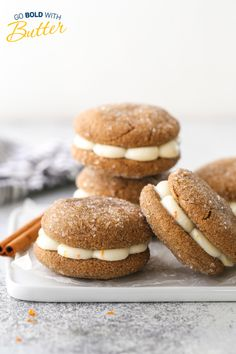 The Grand Prize winner in this year's Holiday Cookie Recipe Contest goes to this soft and chewy rye gingerbread sandwich cookie with a citrus buttercream filling by Merry G. The combination of festive flavors and use of multiple dairy products gave this cookie the winning edge! Holiday Cookie Recipes, Holiday Cookies, Tea Cakes, Shortbread, Biscotti, Macarons, Buttercream Filling, Sandwich Cookies, Rye